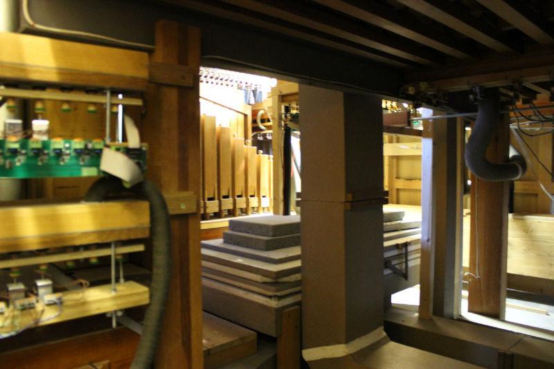 Der Balg der Orgel